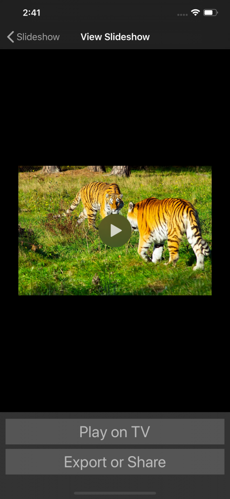 SlideFlow screenshot 2