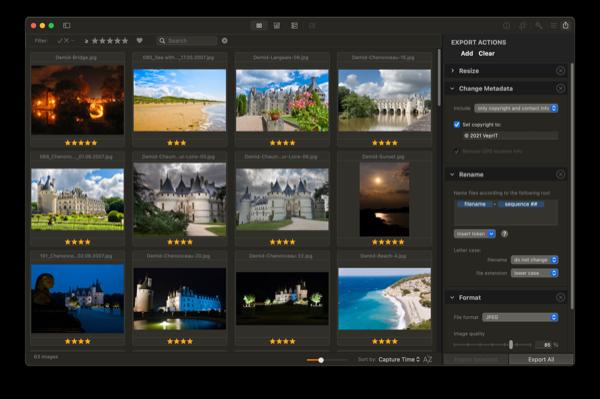 Photo Sense   Advanced Export   Cloud Sync
